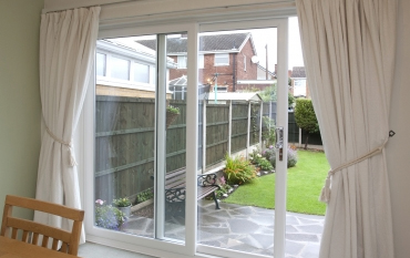 Roundbrand ltd upvc windows doors conservatories for Brown upvc patio doors