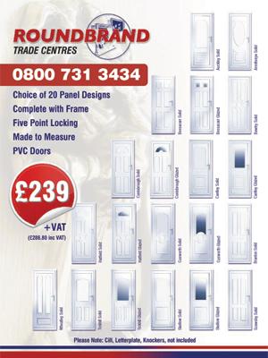 Roundbrand ltd upvc windows doors conservatories bi for Upvc french doors hull